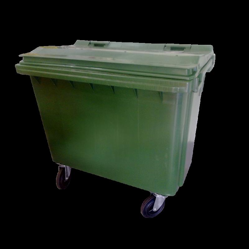 4 Wheel Recycle Bin - 660 Liter