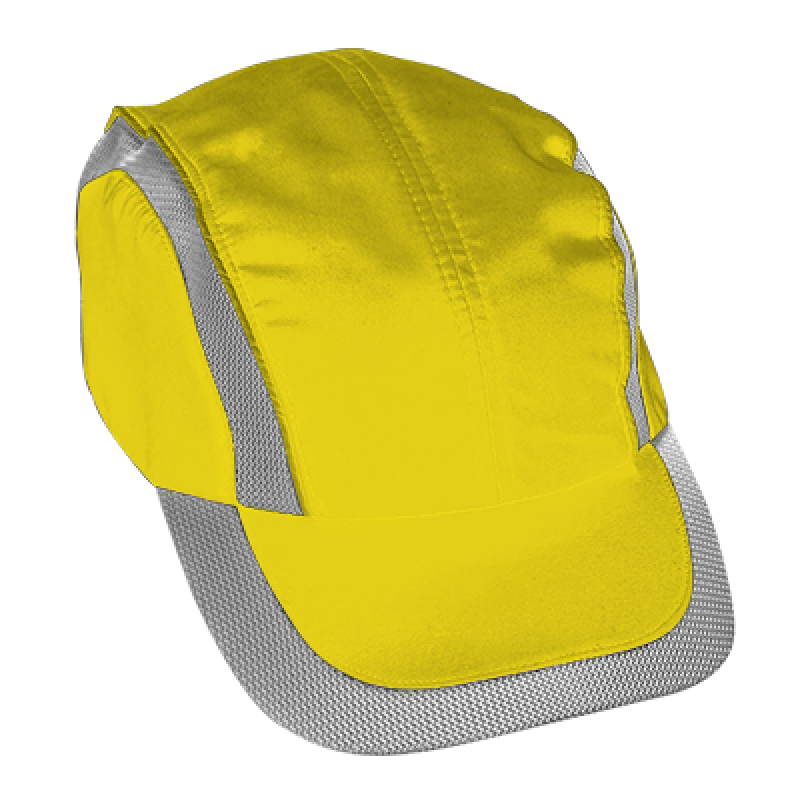 Cotton Bump Cap (Yellow)