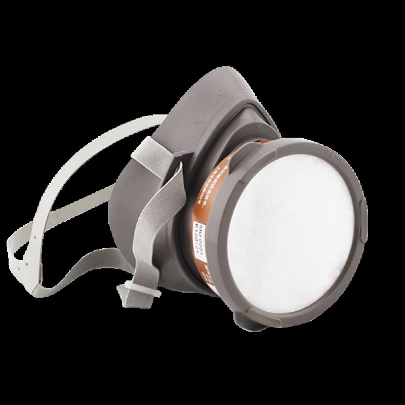 3M Single Cartridge Half Facepiece Respirator