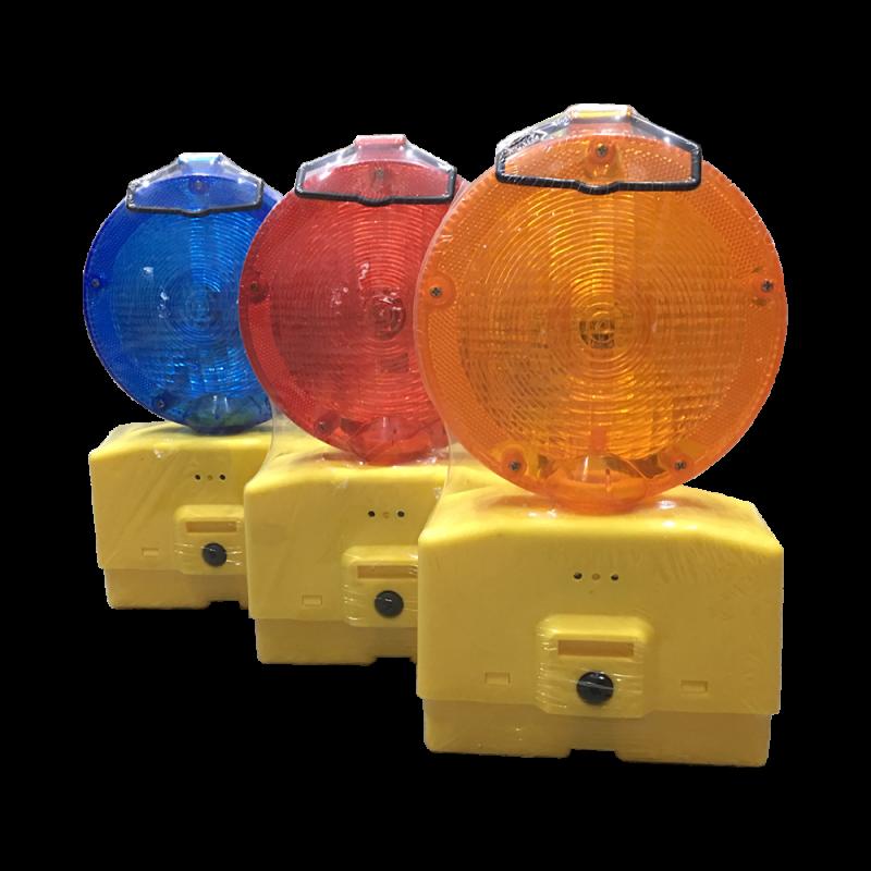 Battery Hazard Warning Light (Blue)