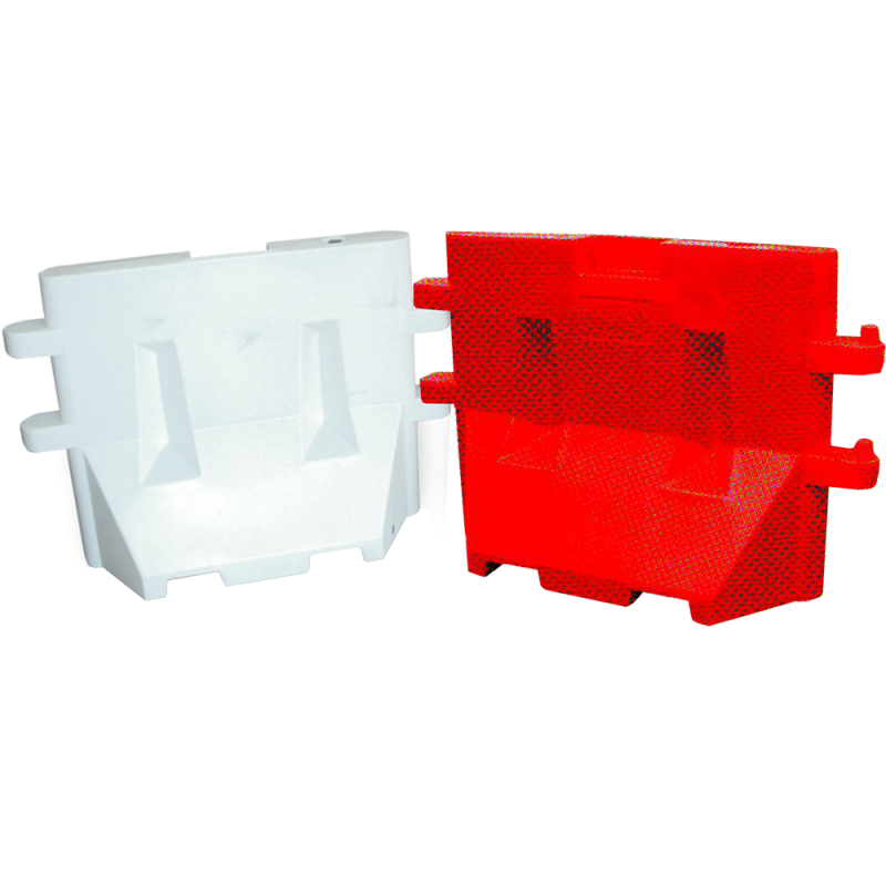 Road Barrier (Water fillable) Red