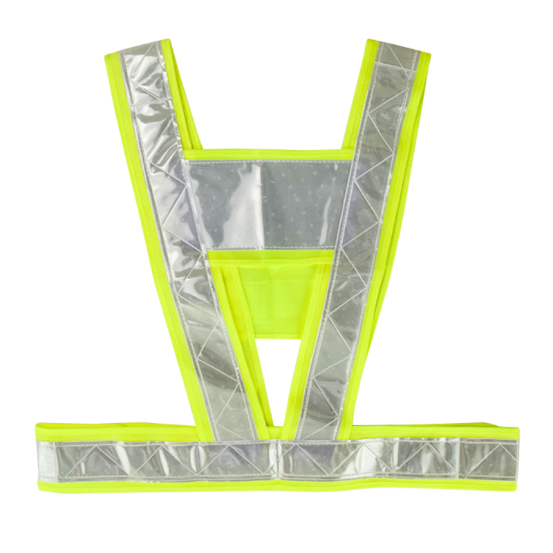 V-Shaped Reflective Safety Vest