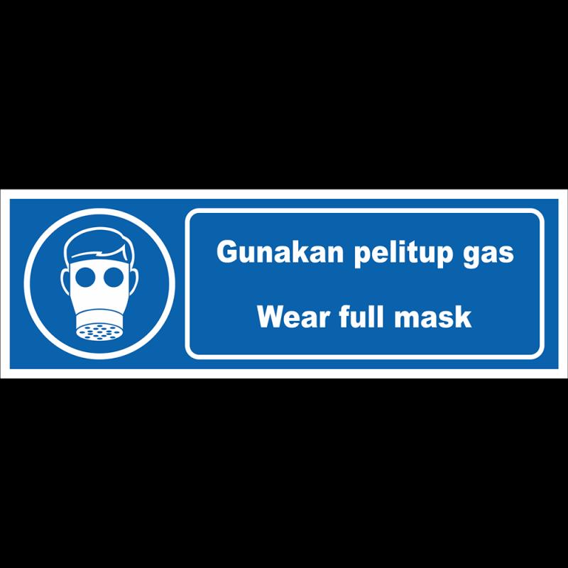 Wear full mask