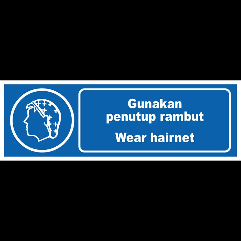 Wear hairnet
