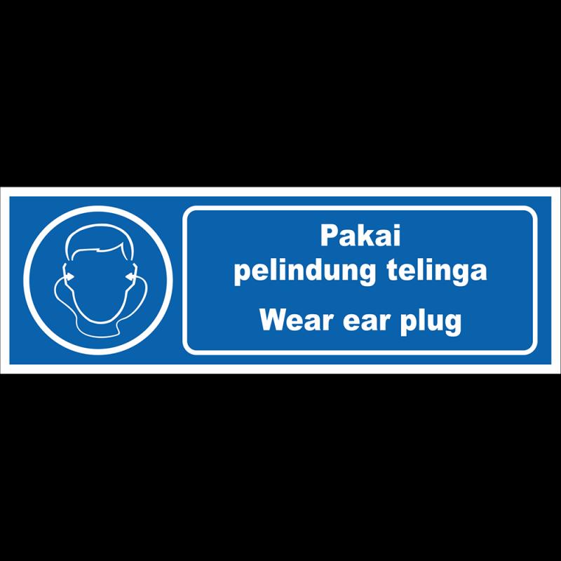 Wear ear plug