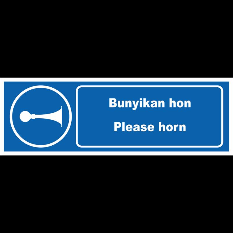 Please horn