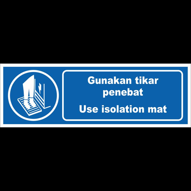Use isolation mat