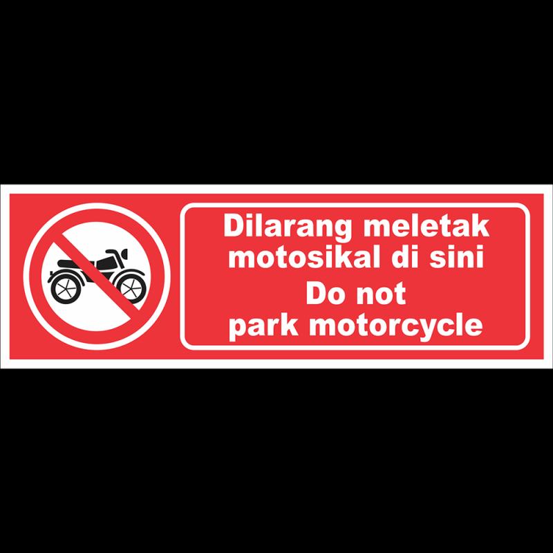 Do not park motocycle