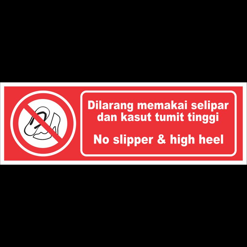 No slipper & high heel
