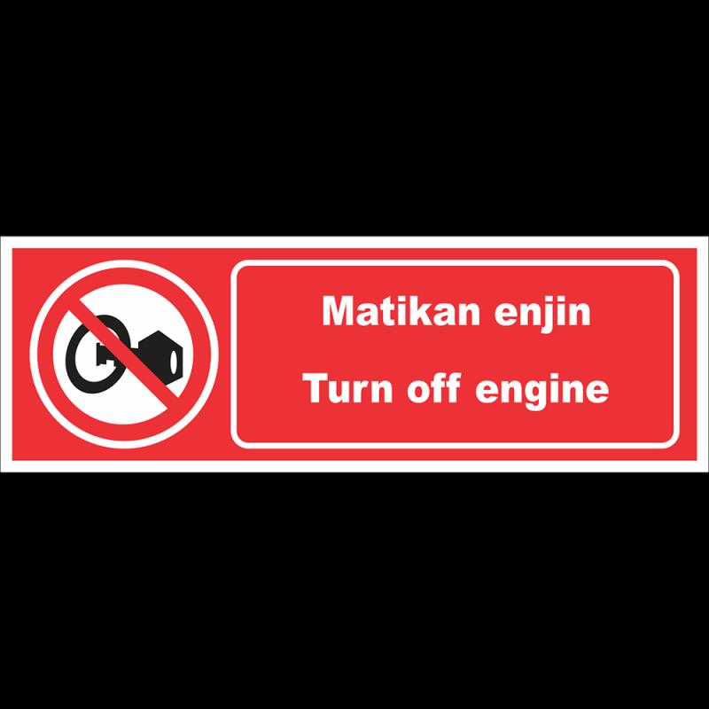 Turn off engine