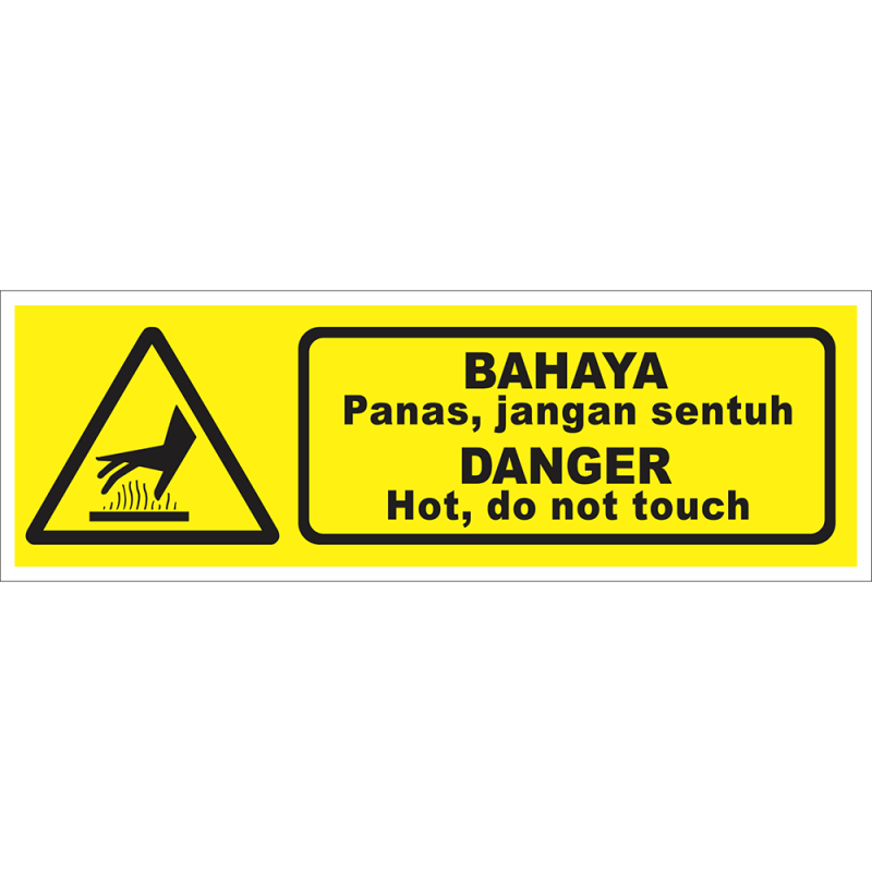 DANGER Hot, do not touch