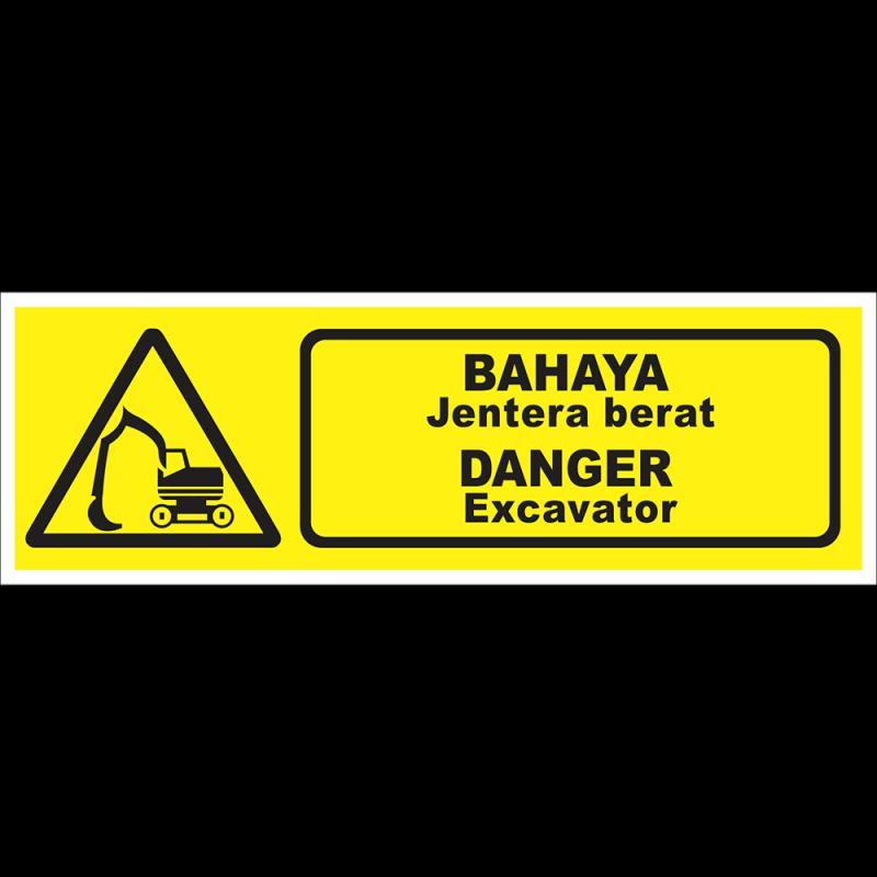 DANGER Excavator