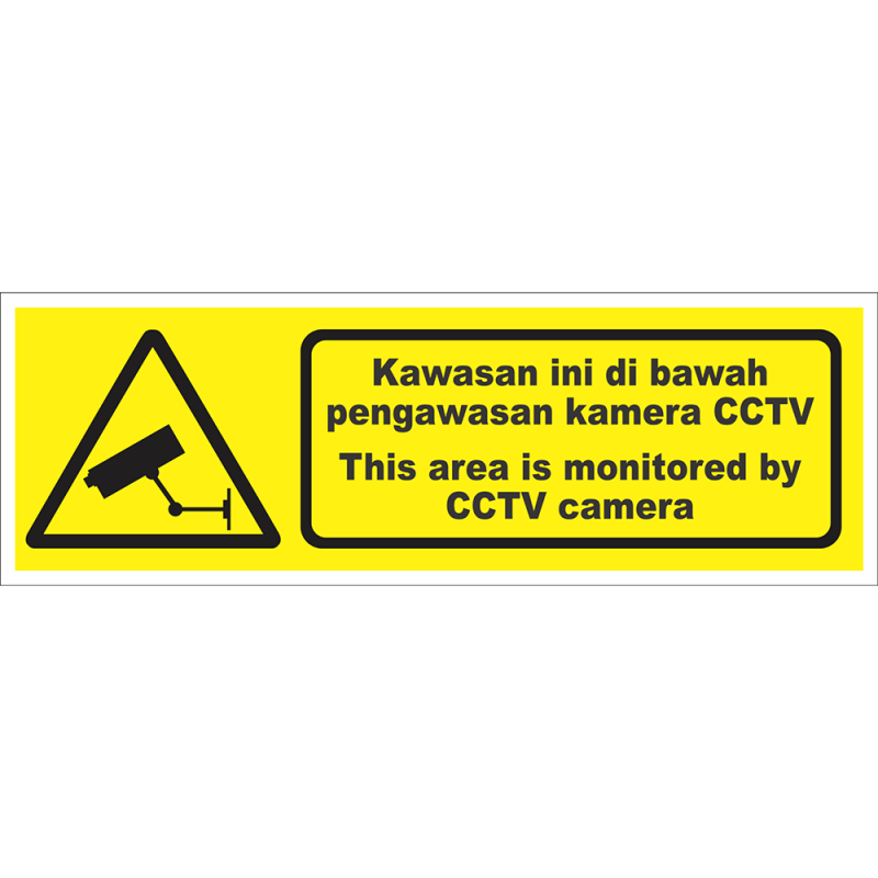 This area is monitored by CCTV camera