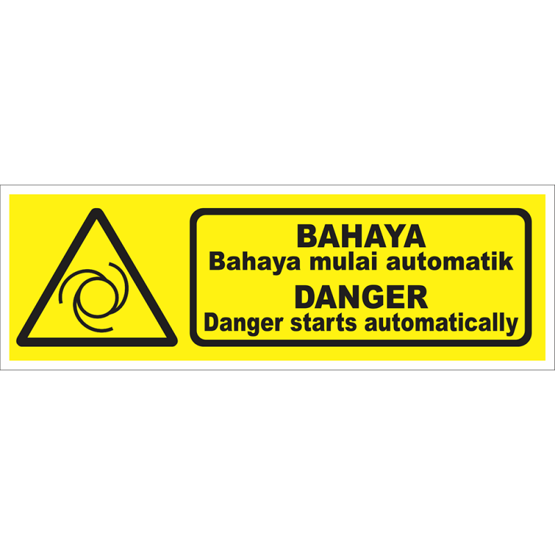 DANGER Danger starts automatically
