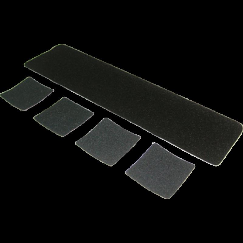 "Coarse Black Grit (5.5"" x 5.5"")"