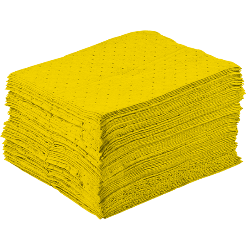 Sorbent Pad (Chemical, 100pcs/carton)