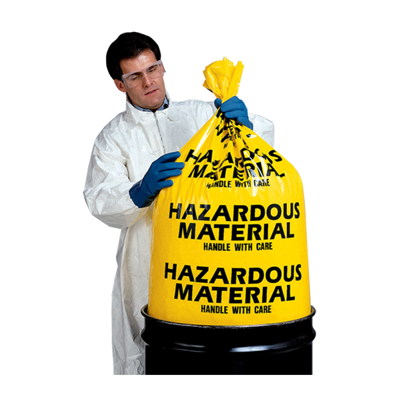 Hazardous Material Disposal Bags