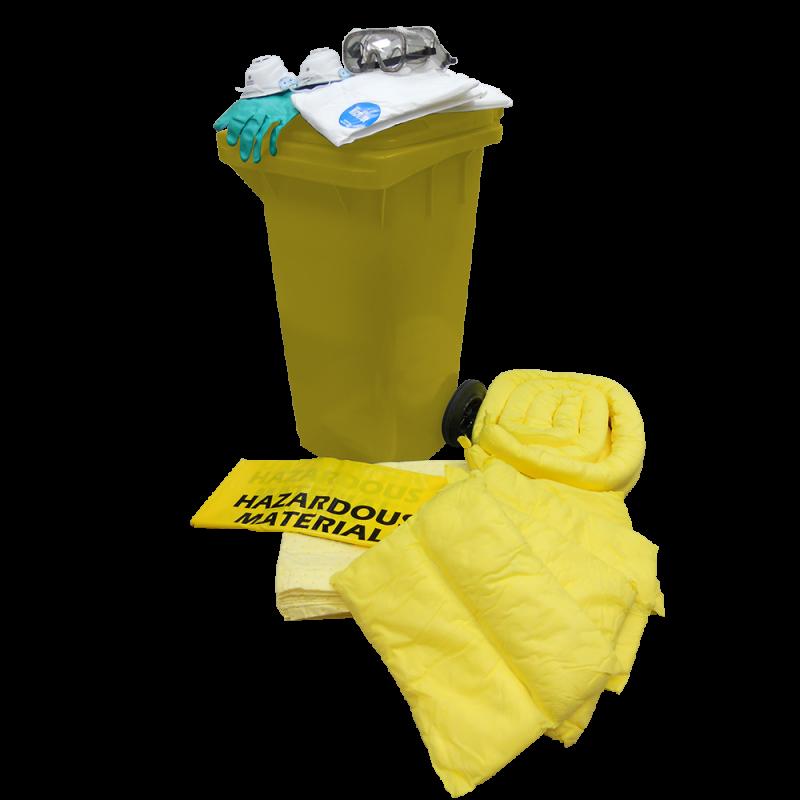 Dispenser Cart Spill Kit - Chemical (120 Liters)