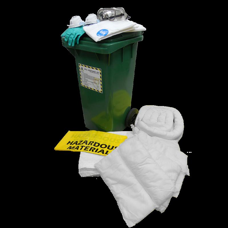 Dispenser Cart Spill Kit - Oil (120 Liters)