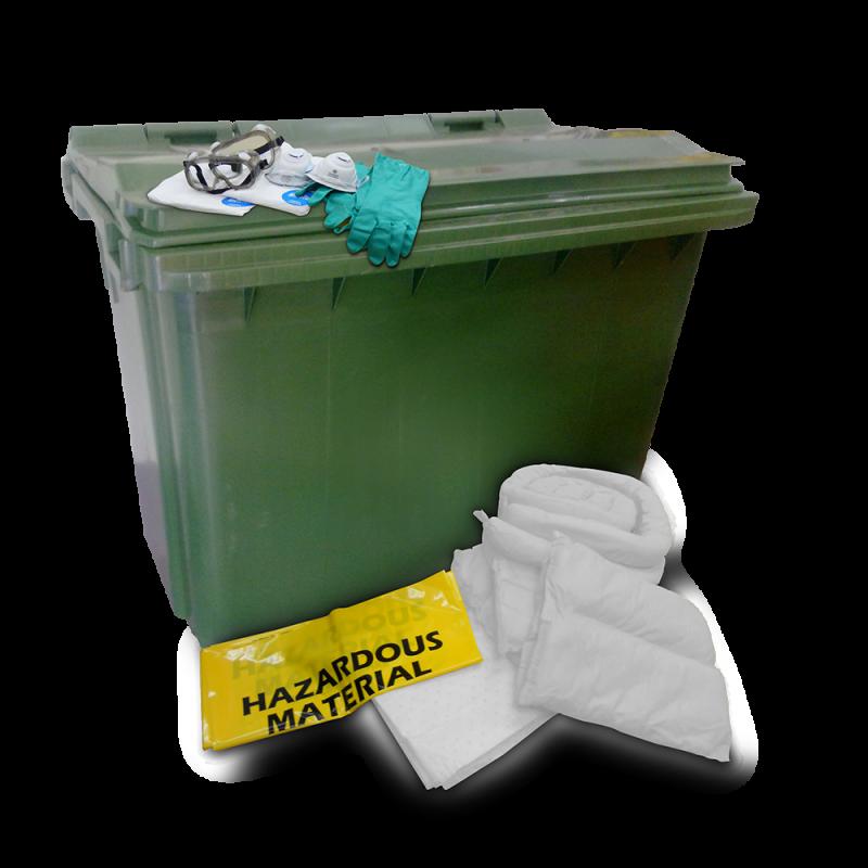 Dispenser Cart Spill Kit - Oil (660 Liters)